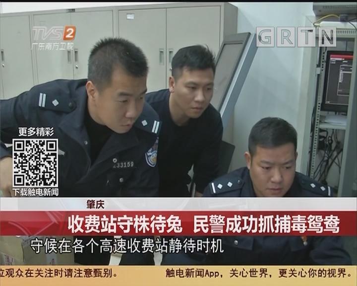 肇庆:收费站守株待兔 民警成功抓捕毒鸳鸯