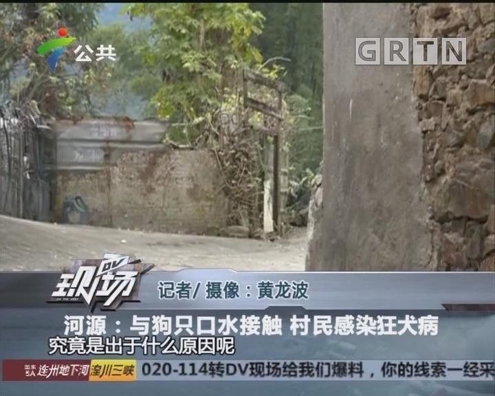 河源:与狗只口水接触 村民感染狂犬病