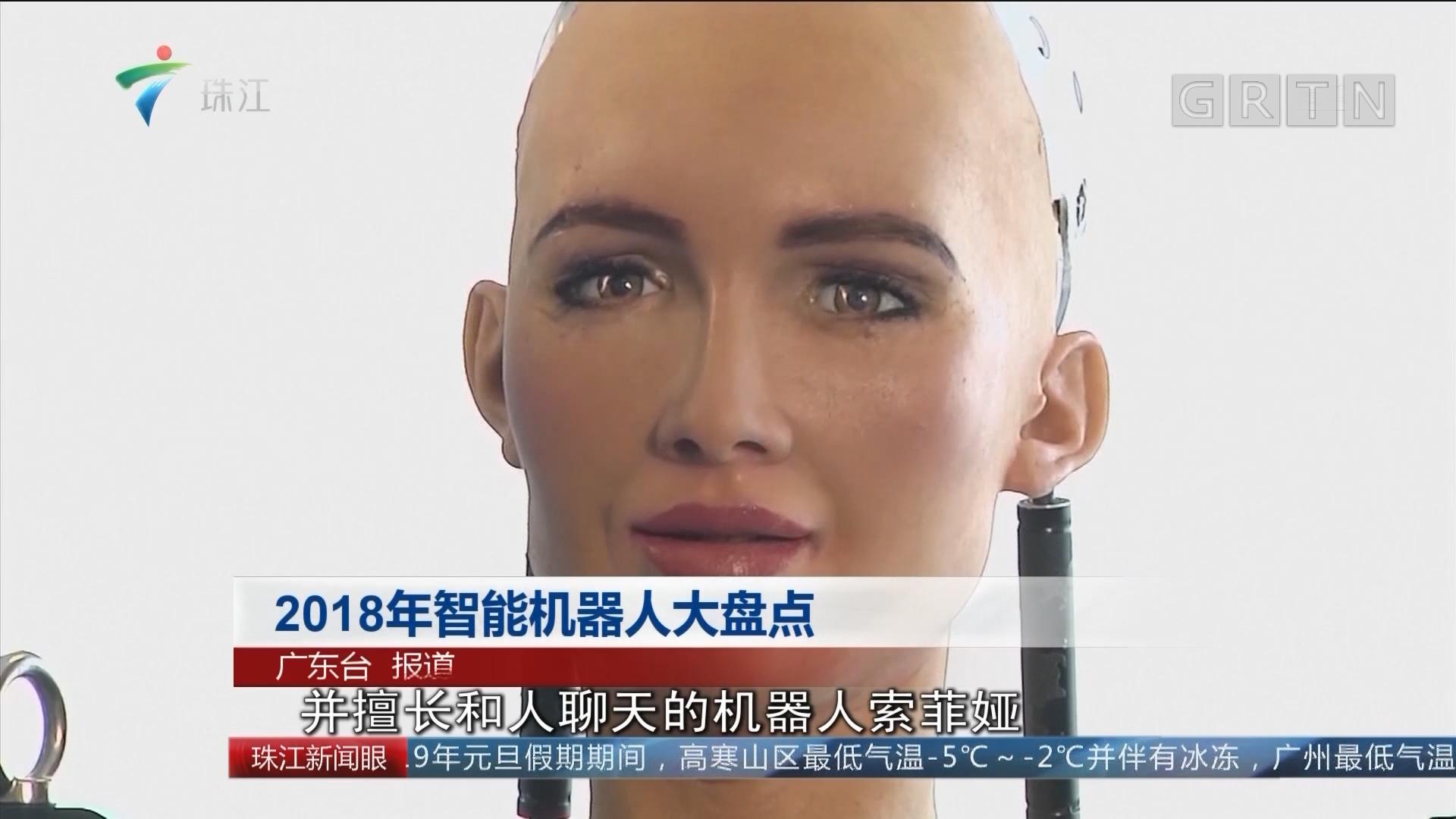 2018年智能机器人大盘点