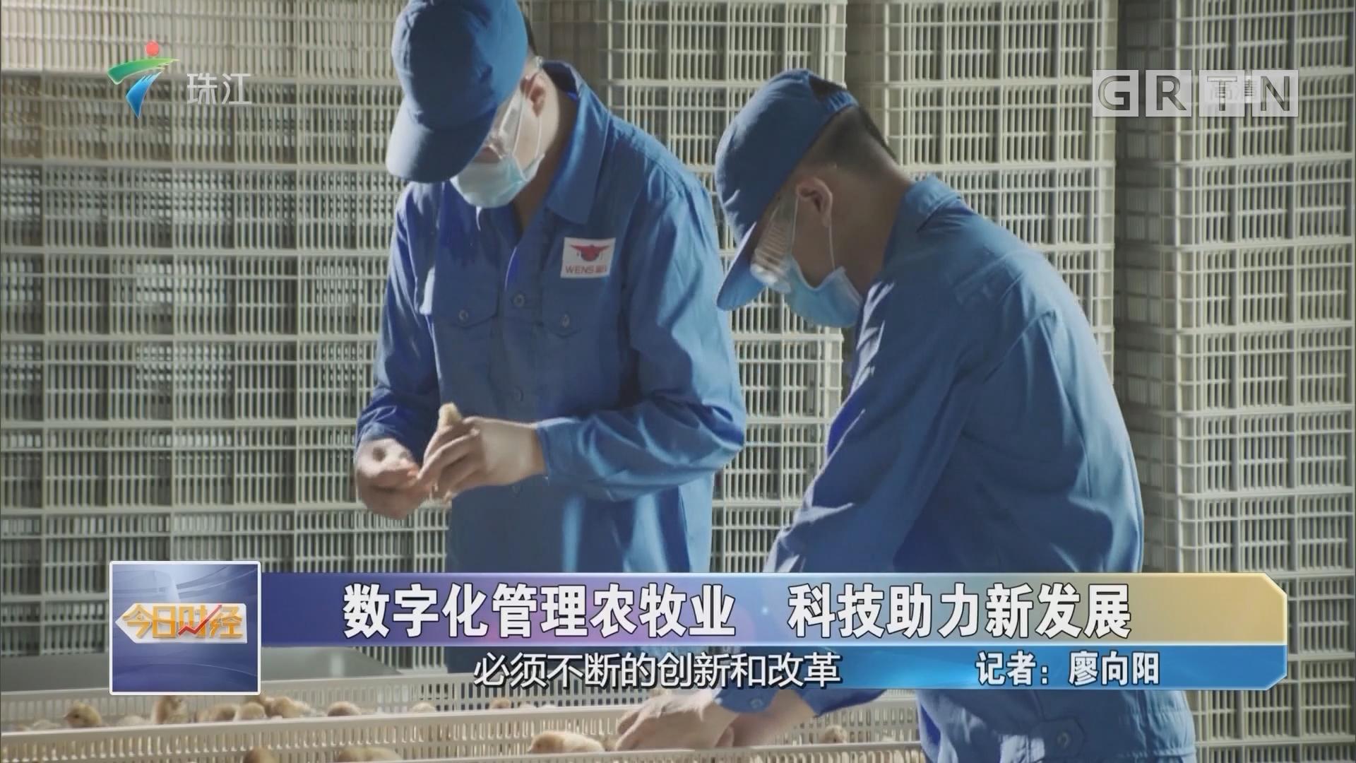 数字化管理农牧业 科技助力新发展