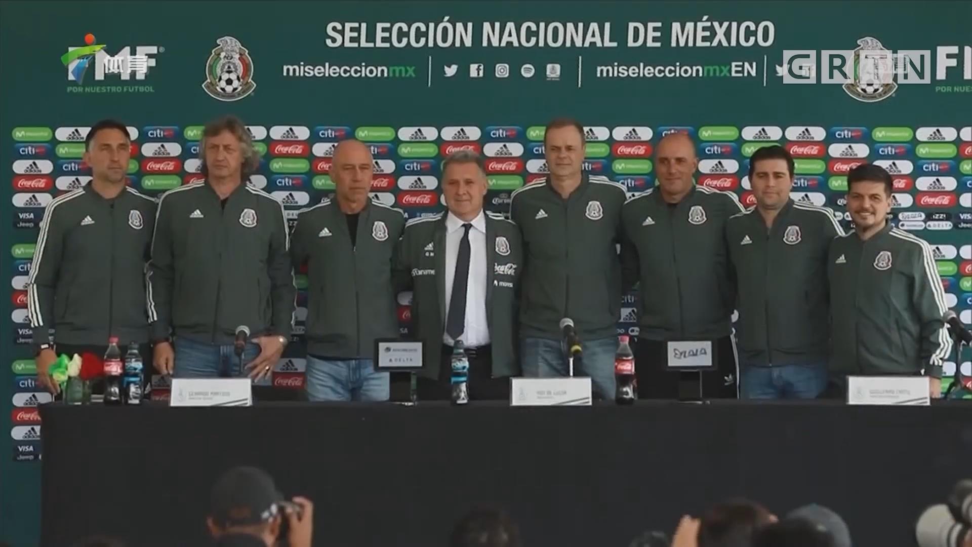 马蒂诺出任墨西哥国家队主教练