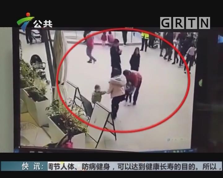 深圳:男子强抱女孩 家人迅速阻止