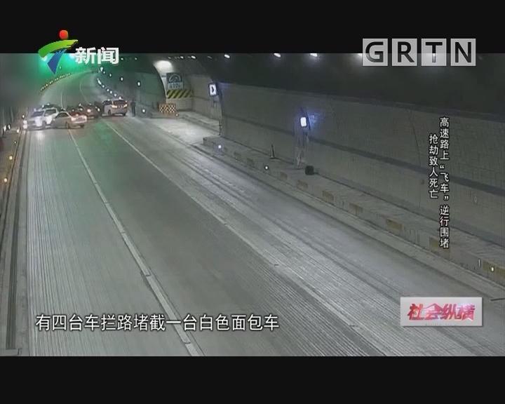 """[2019-01-29]社会纵横:抢劫致人死亡 高速路上""""飞车""""逆行围堵"""