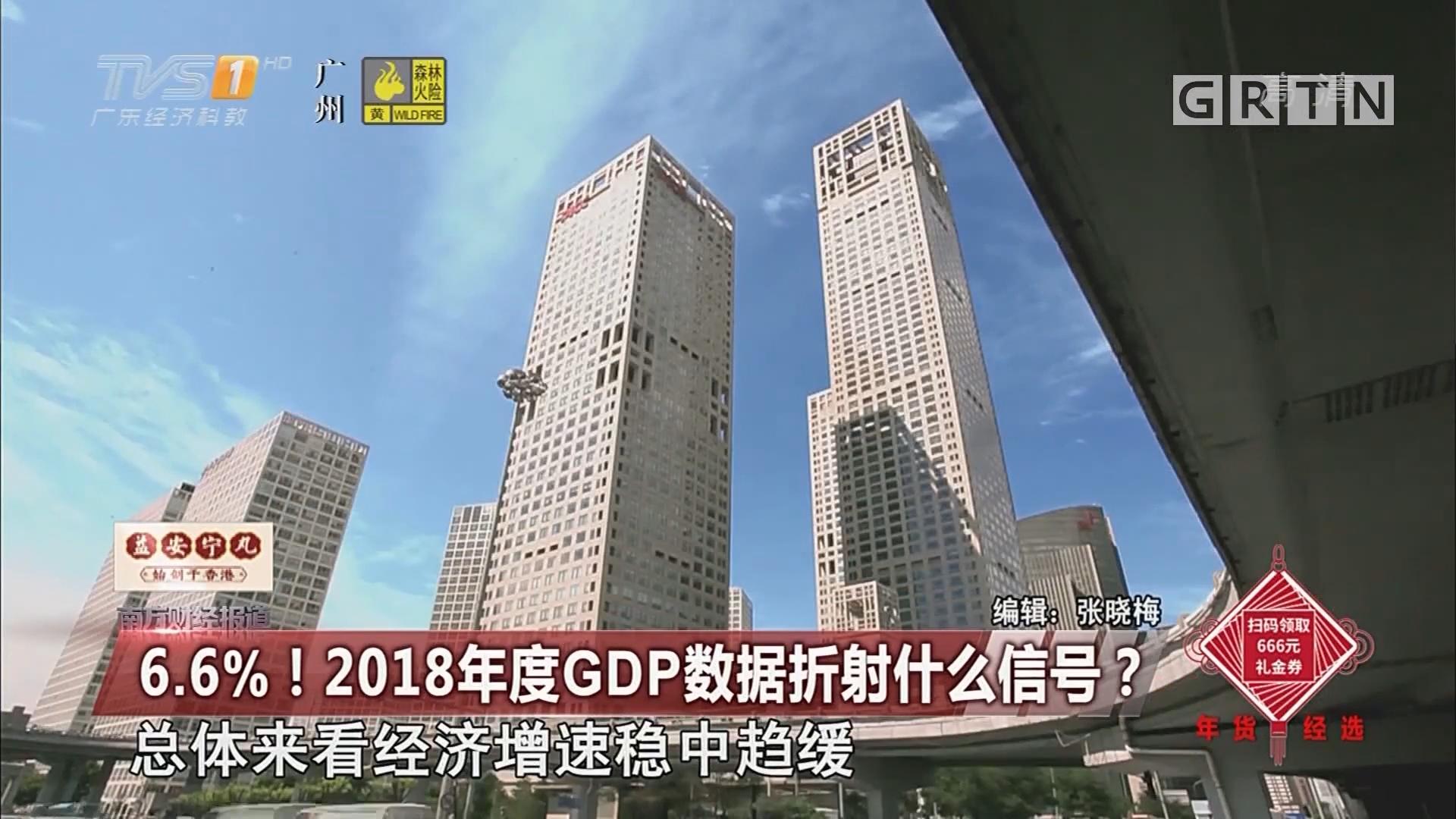 6.6%!2018年度GDP数据折射什么信号?