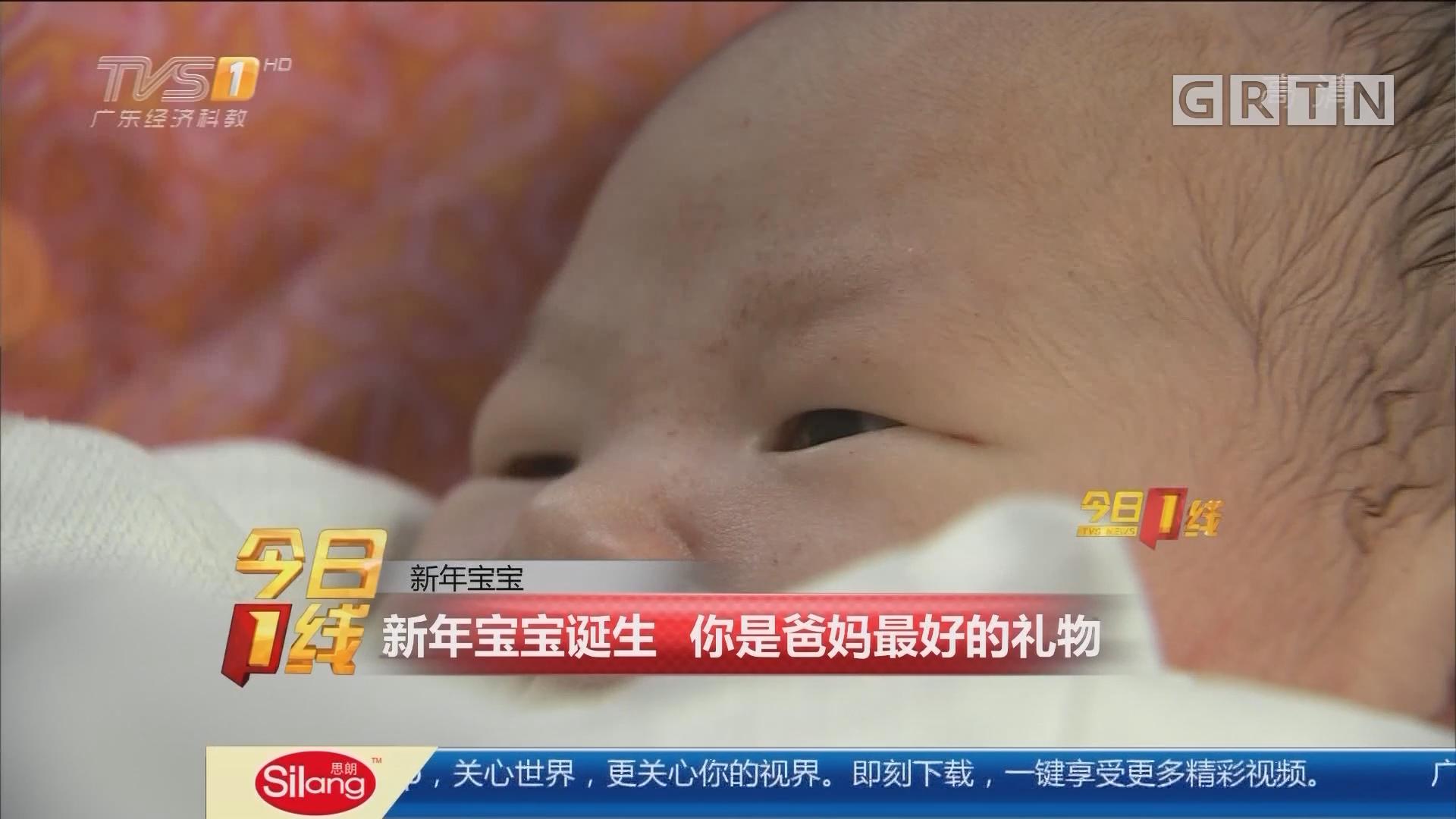 新年宝宝:新年宝宝诞生 你是爸妈最好的礼物