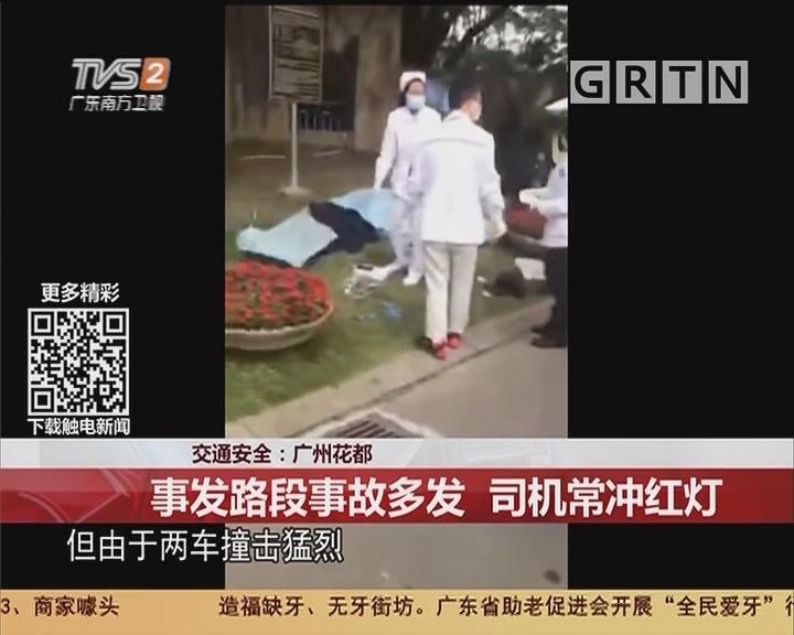 交通安全:广州花都 事发路段事故多发 司机常冲红灯