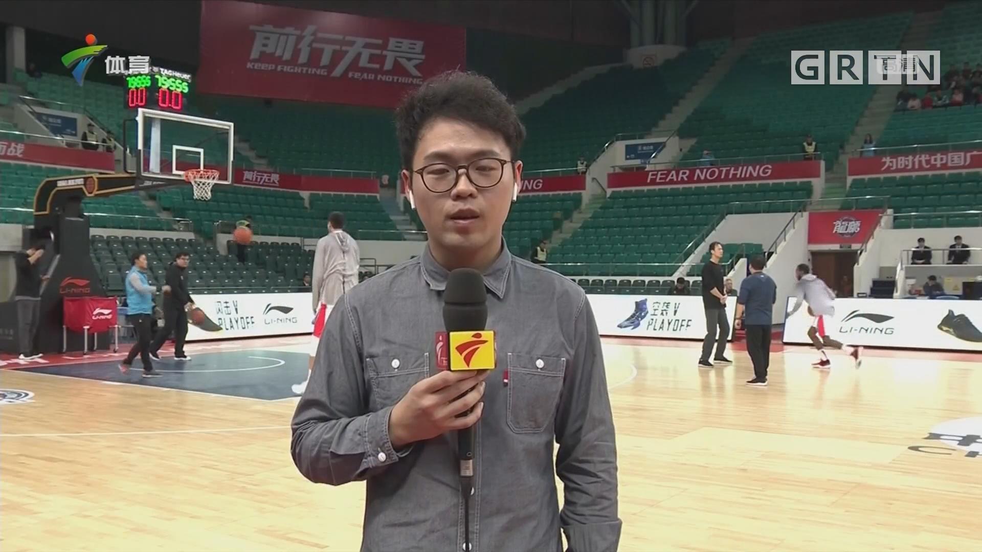 记者连线:时代中国广州vs八一南昌
