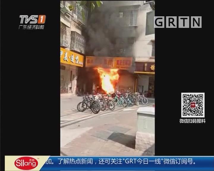 清远:大火烧坏楼 数十户居民租房一月难回家
