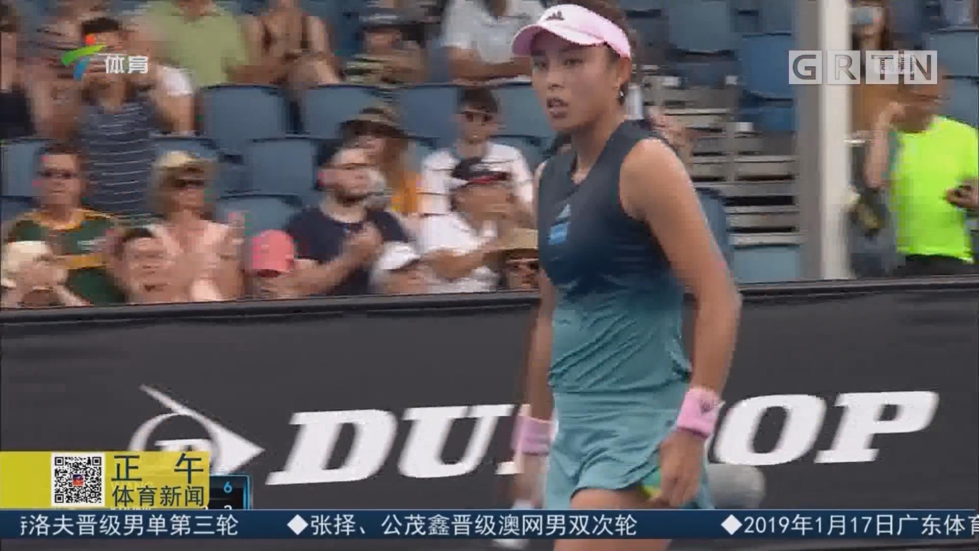 手感火热 王蔷首进澳网女单32强