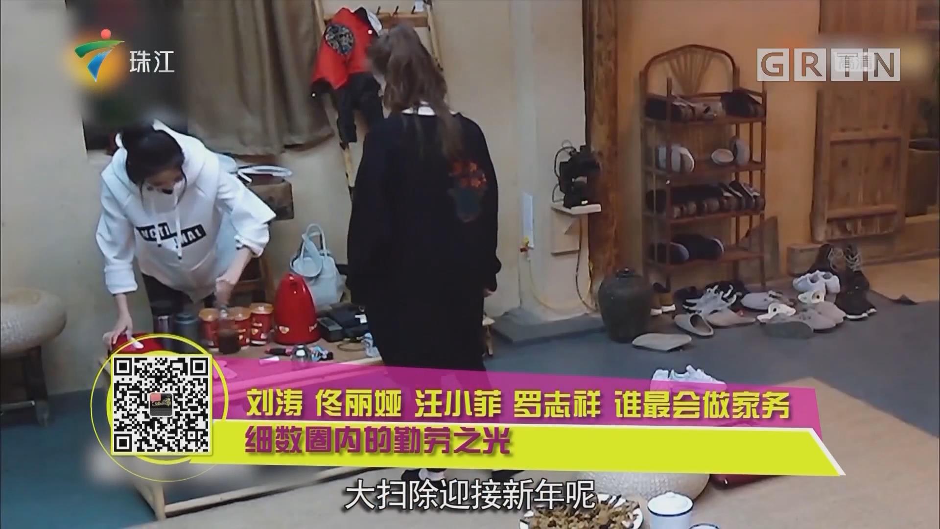 刘涛 佟丽娅 汪小菲 罗志祥 谁最会做家务 细数圈内的勤劳之光