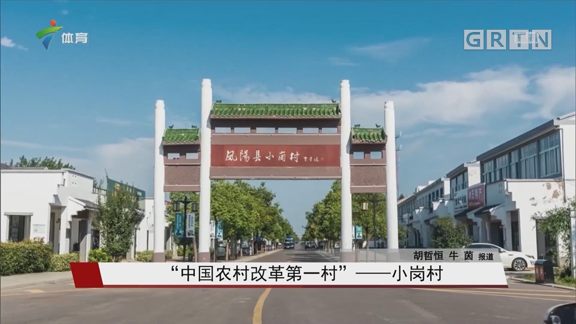 """""""中国农村改革第一村""""——小岗村"""