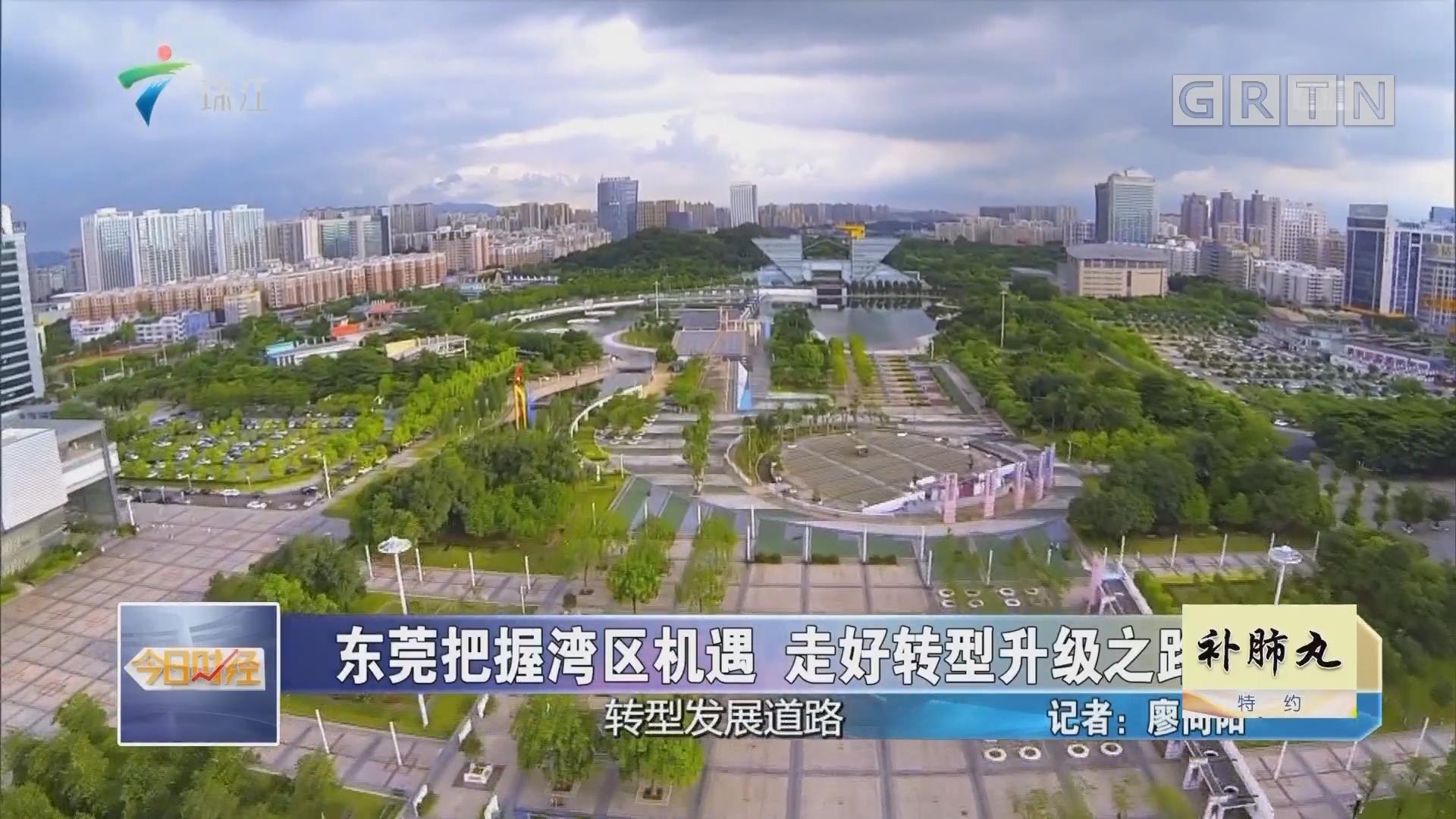 东莞把握湾区机遇 走好转型升级之路