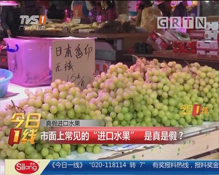 """真假进口水果:市面上常见的""""进口水果"""" 是真是假?"""