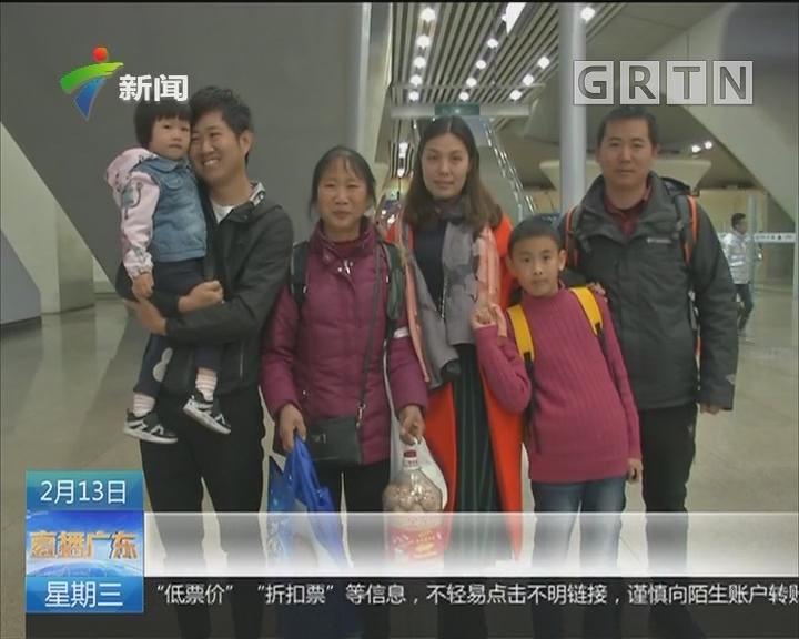 返程行李:满满家人爱 浓浓故乡情