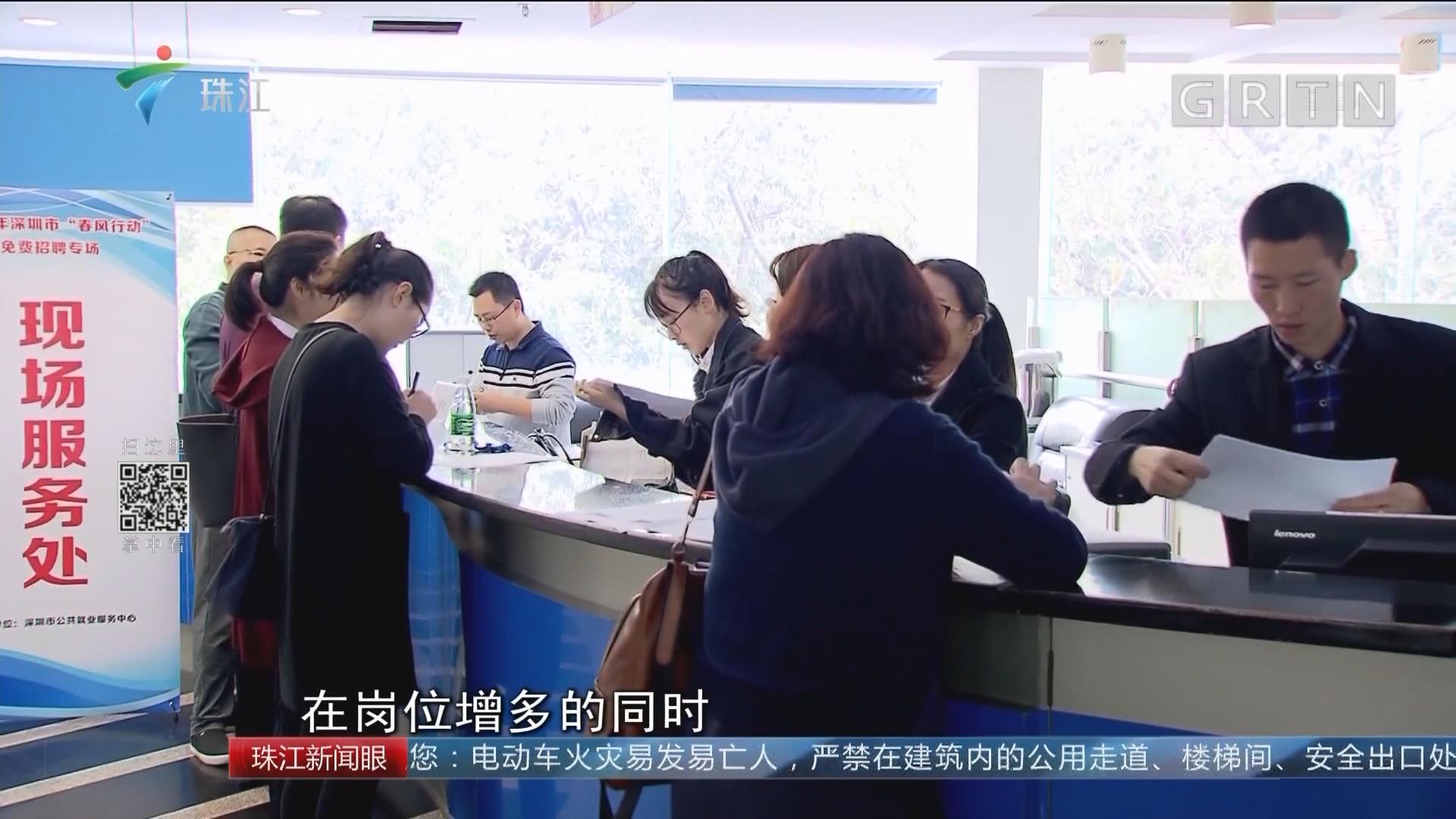 深圳:3月前举办306场免费招聘会