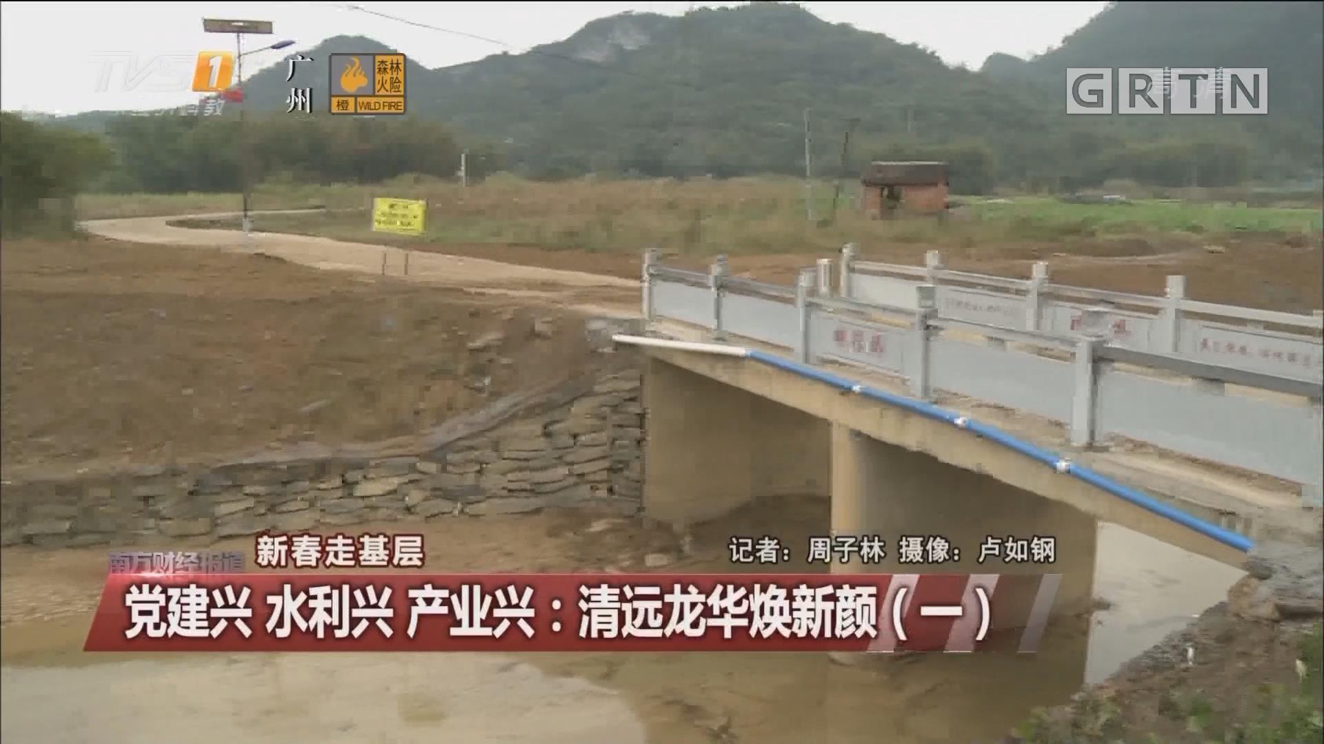 党建兴 水利兴 产业兴:清远龙华焕新颜(一)