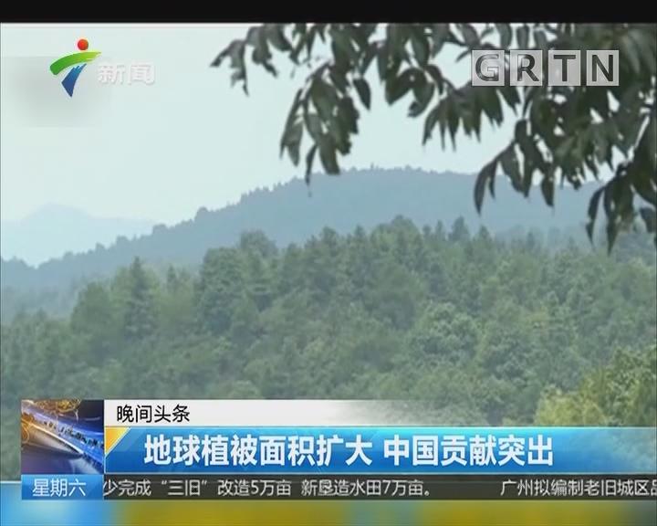 地球植被面积扩大 中国贡献突出