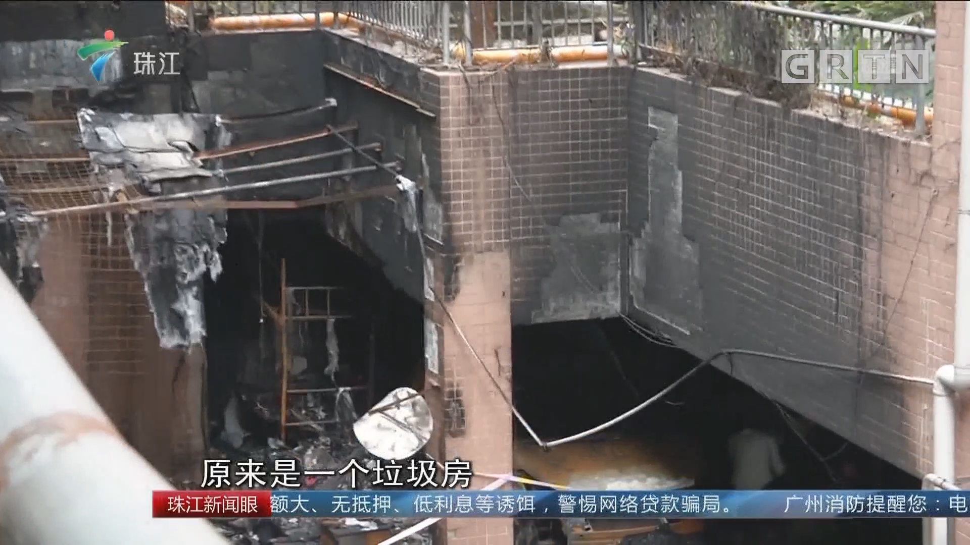 深圳:小区地下停车场发生大火