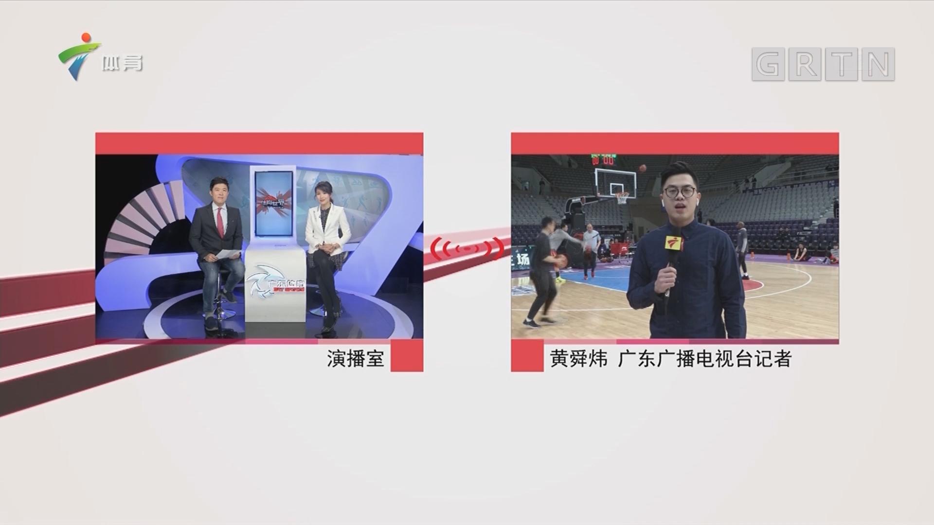 记者连线:辽宁本钢vs深圳马可波罗