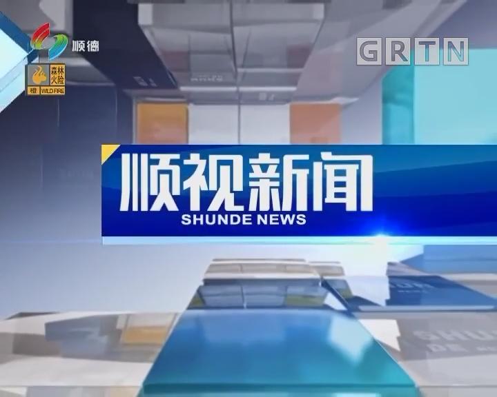 [2019-02-11]顺视新闻:市区领导陈村开展新春植树 共同打造三龙湾生态文明创新之路
