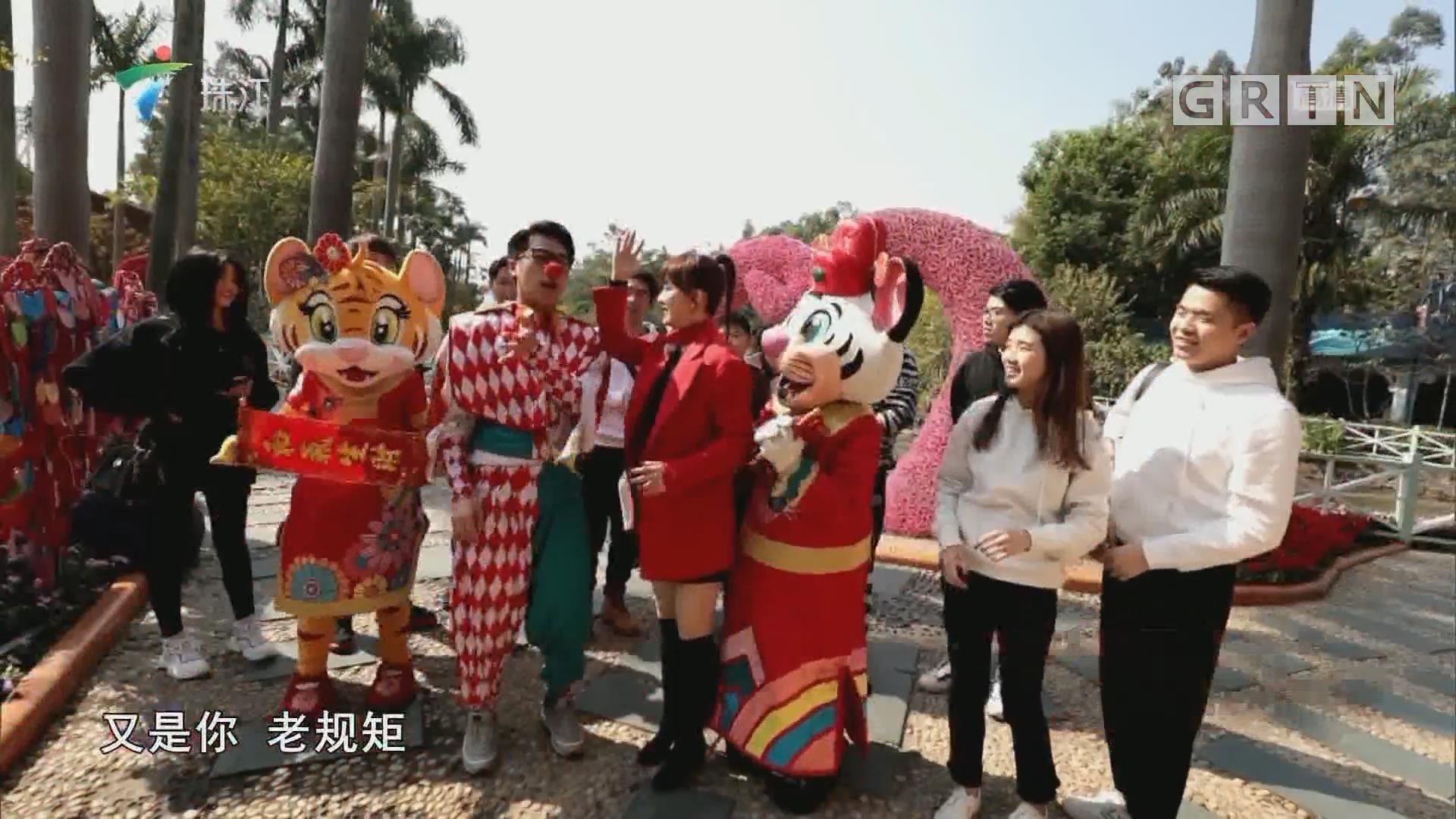 广州长隆欢乐世界年俗游戏