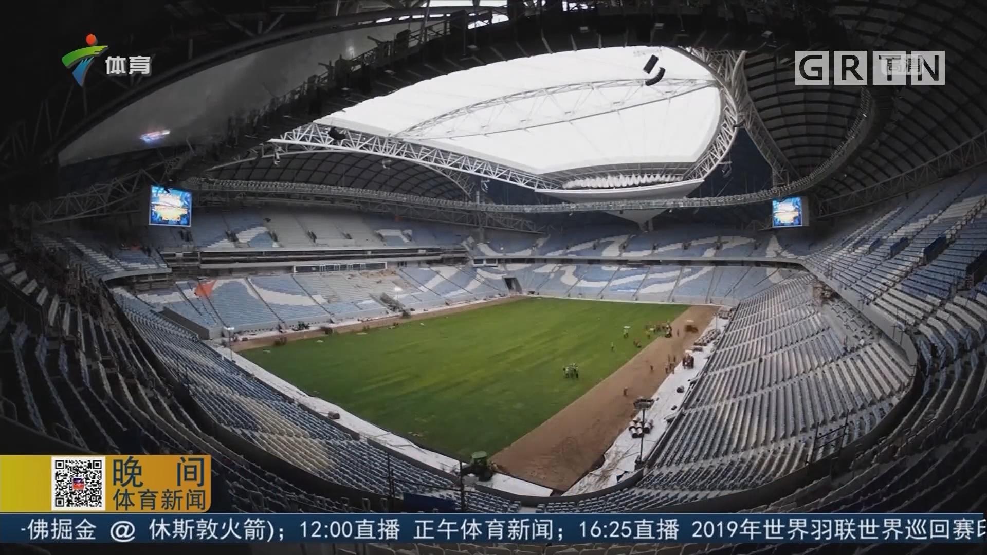 沃克拉体育场创下新的世界纪录