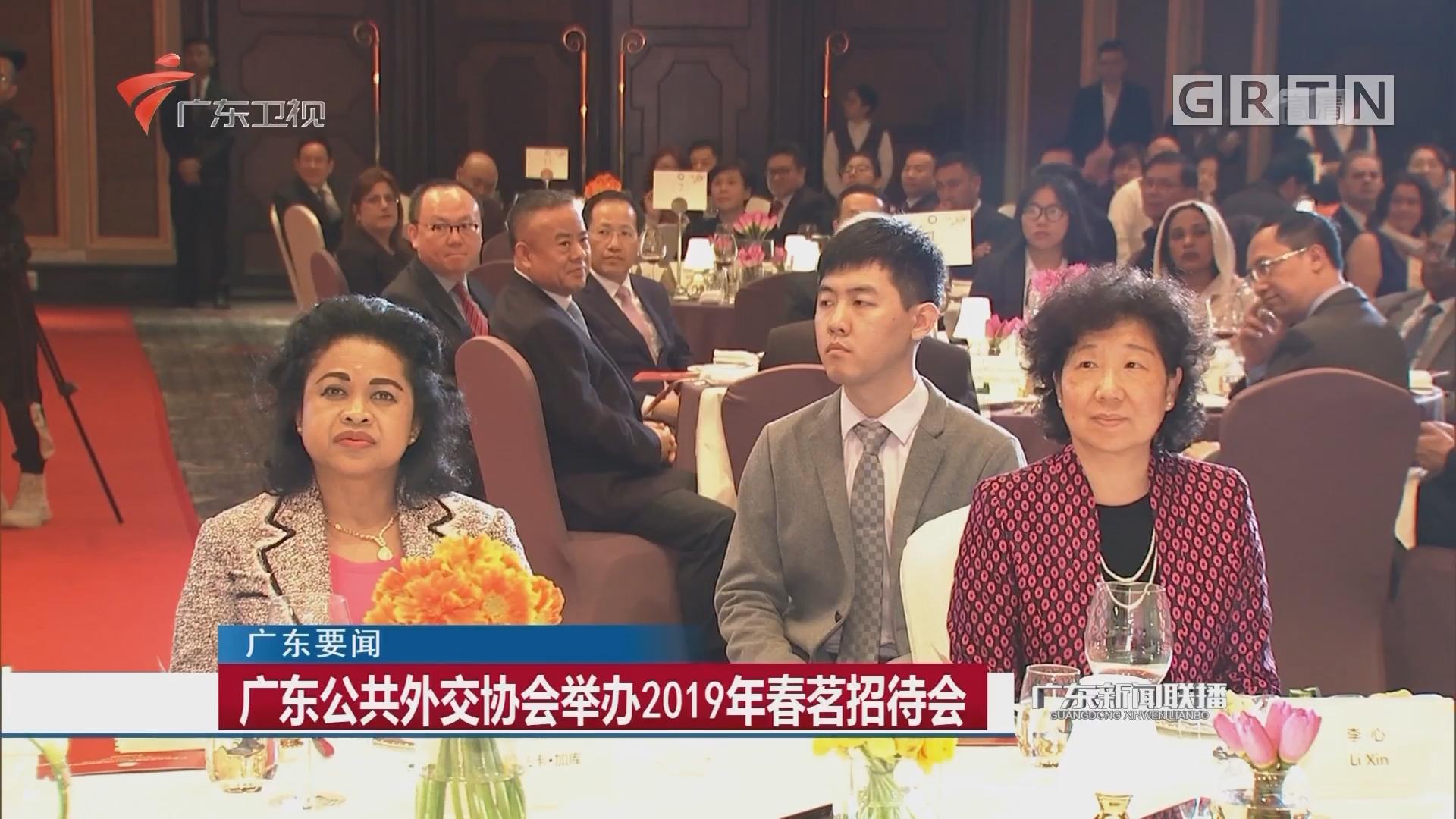 广东公共外交协会举办2019年春茗招待会