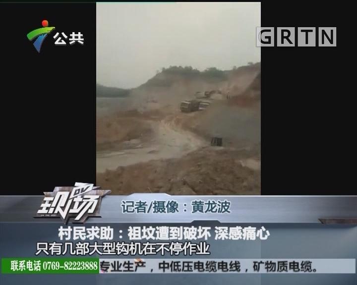 村民求助:祖坟遭到破坏 深感痛心