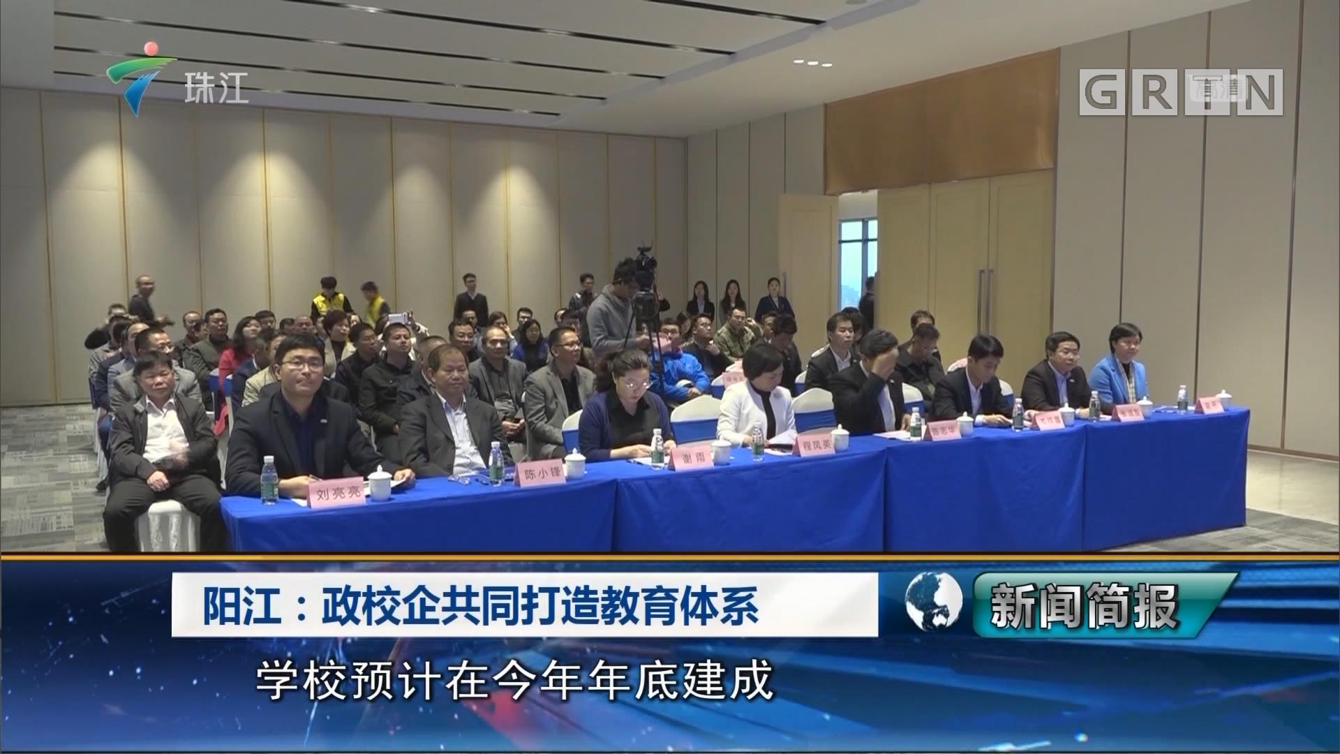 阳江:政校企业共同打造教育体系