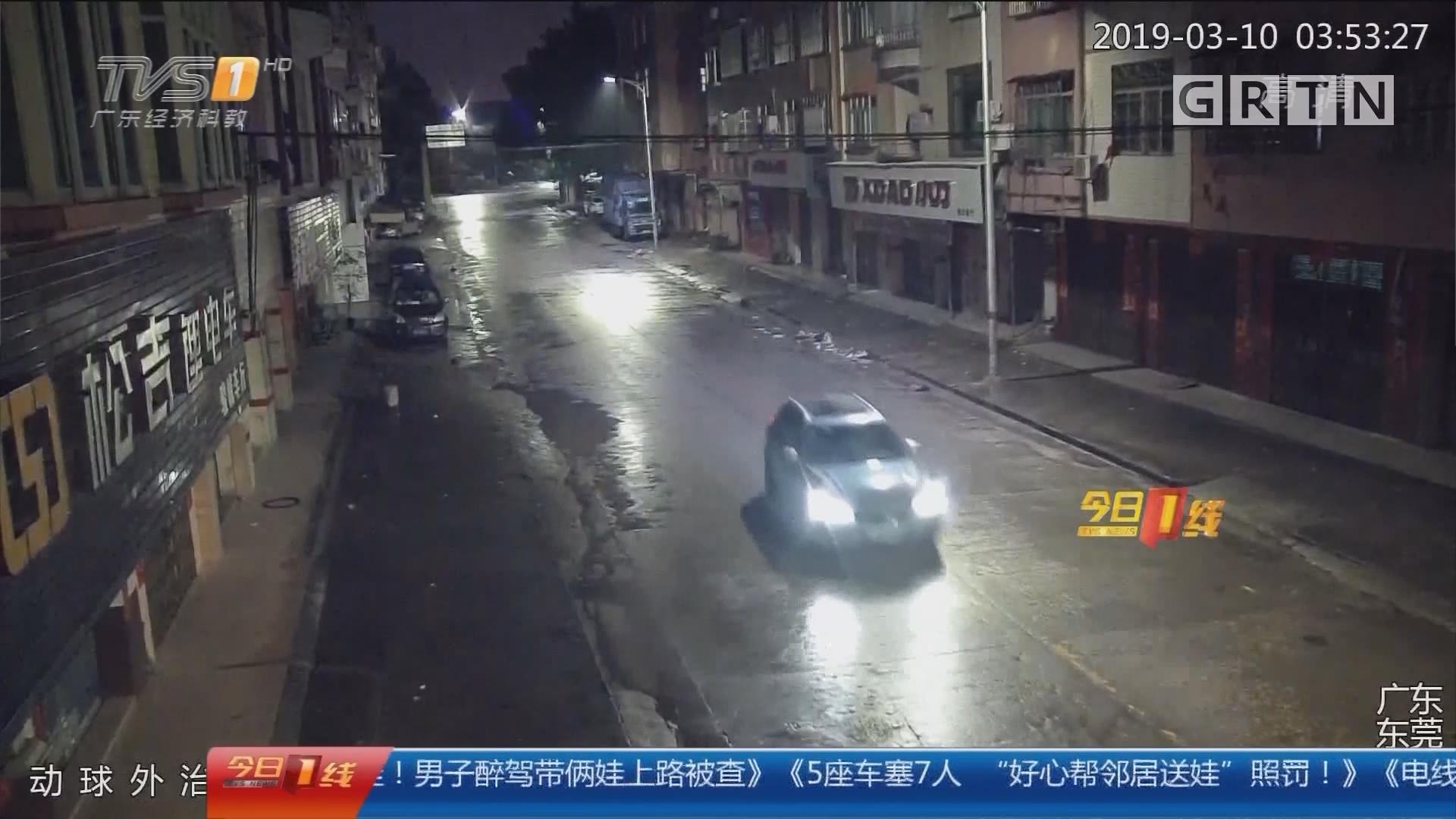 东莞桥头:醉酒司机肇事逃逸 医院看病时被抓获