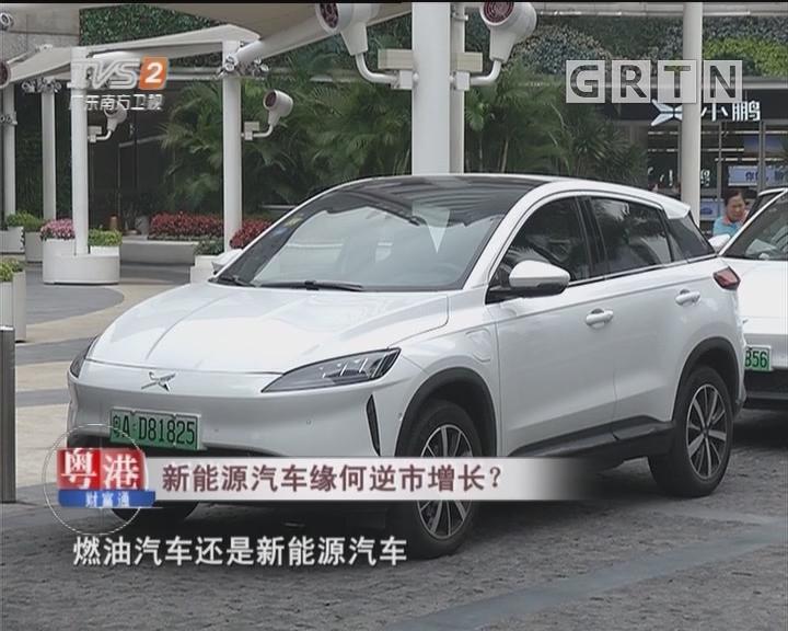 新能源汽车缘何逆市增长?