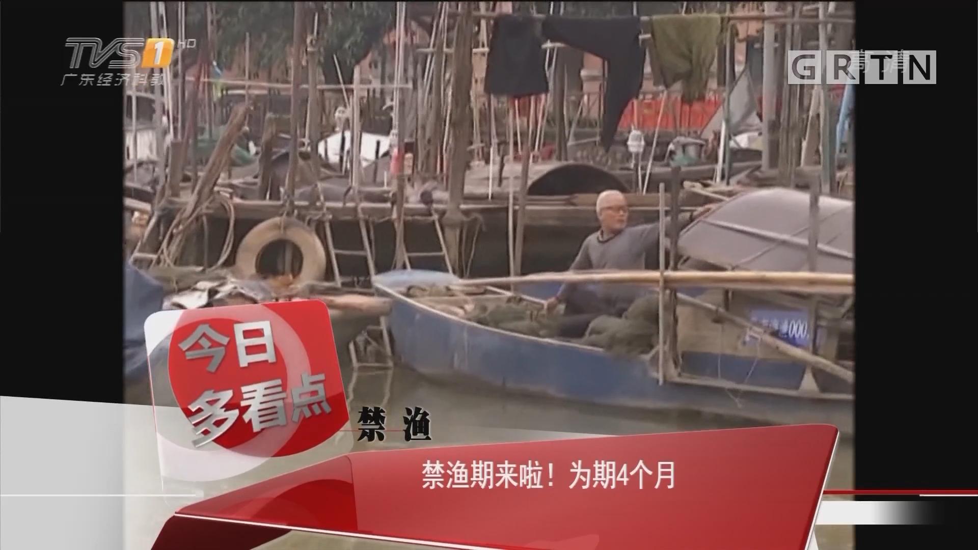 禁渔:禁渔期来啦!为期4个月