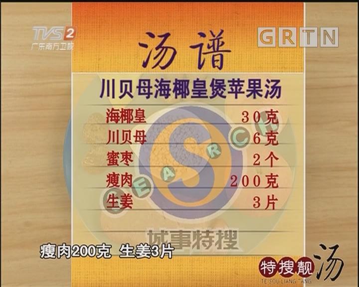 川贝海椰皇煲苹果汤