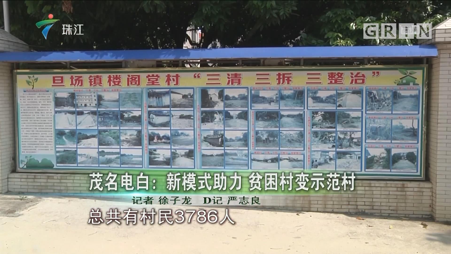 茂名电白:新模式助力 贫困村变示范村