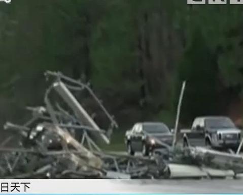 美国:南部多地遭遇龙卷风 23人死亡