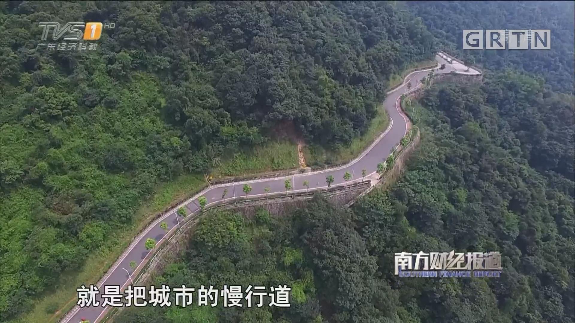 """广州:3500公里绿道打造市民""""幸福路"""""""