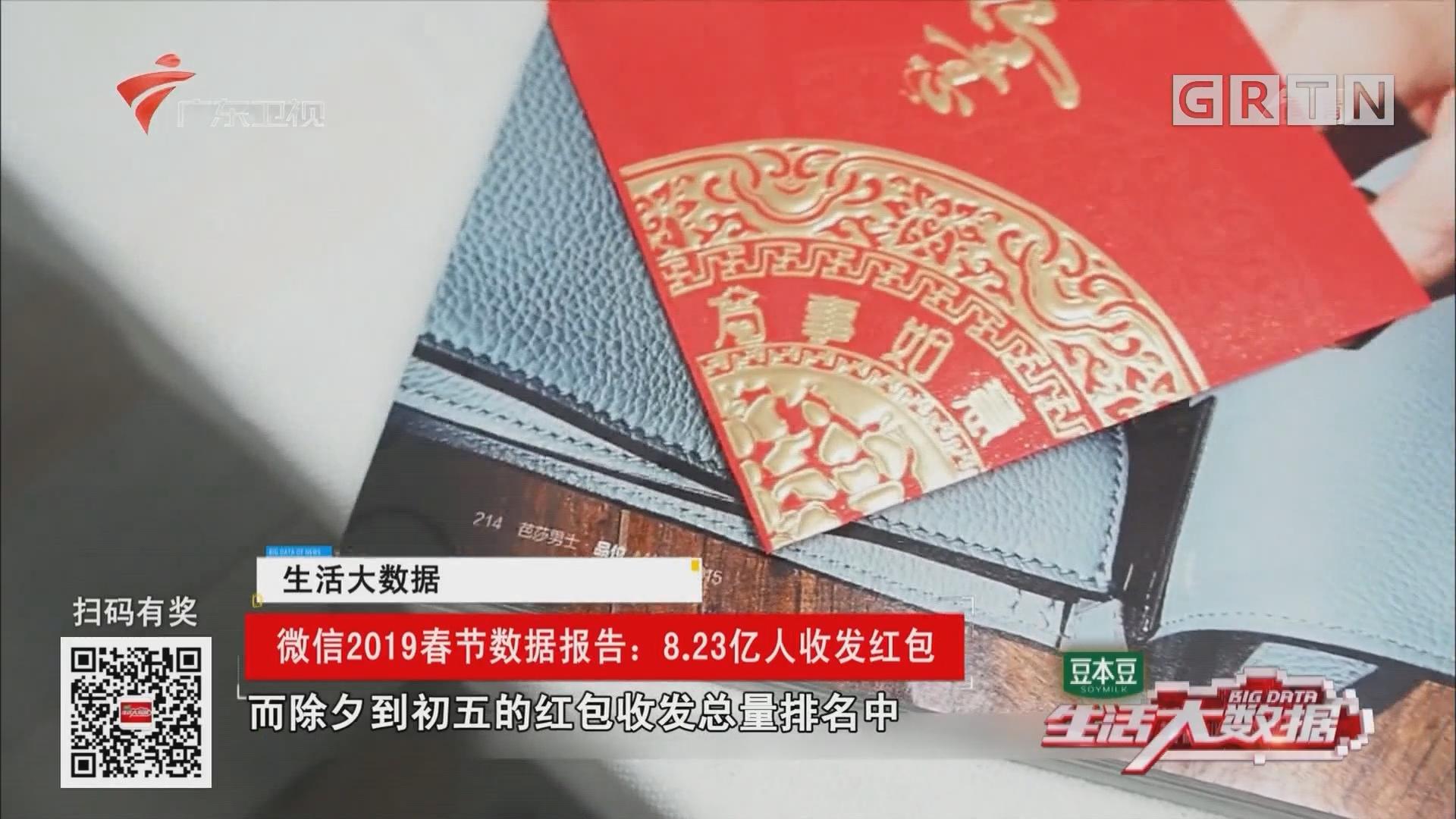 微信2019春节数据报告:8.23亿人收发红包