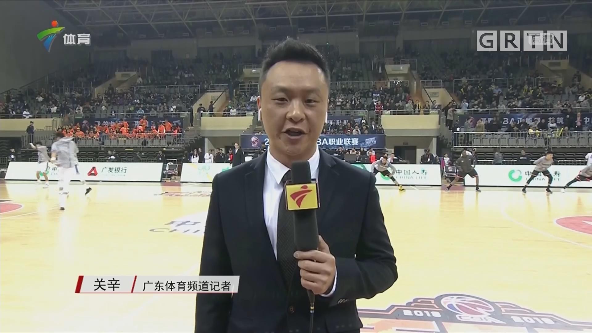 记者连线:苏州肯帝亚vs广东东莞银行