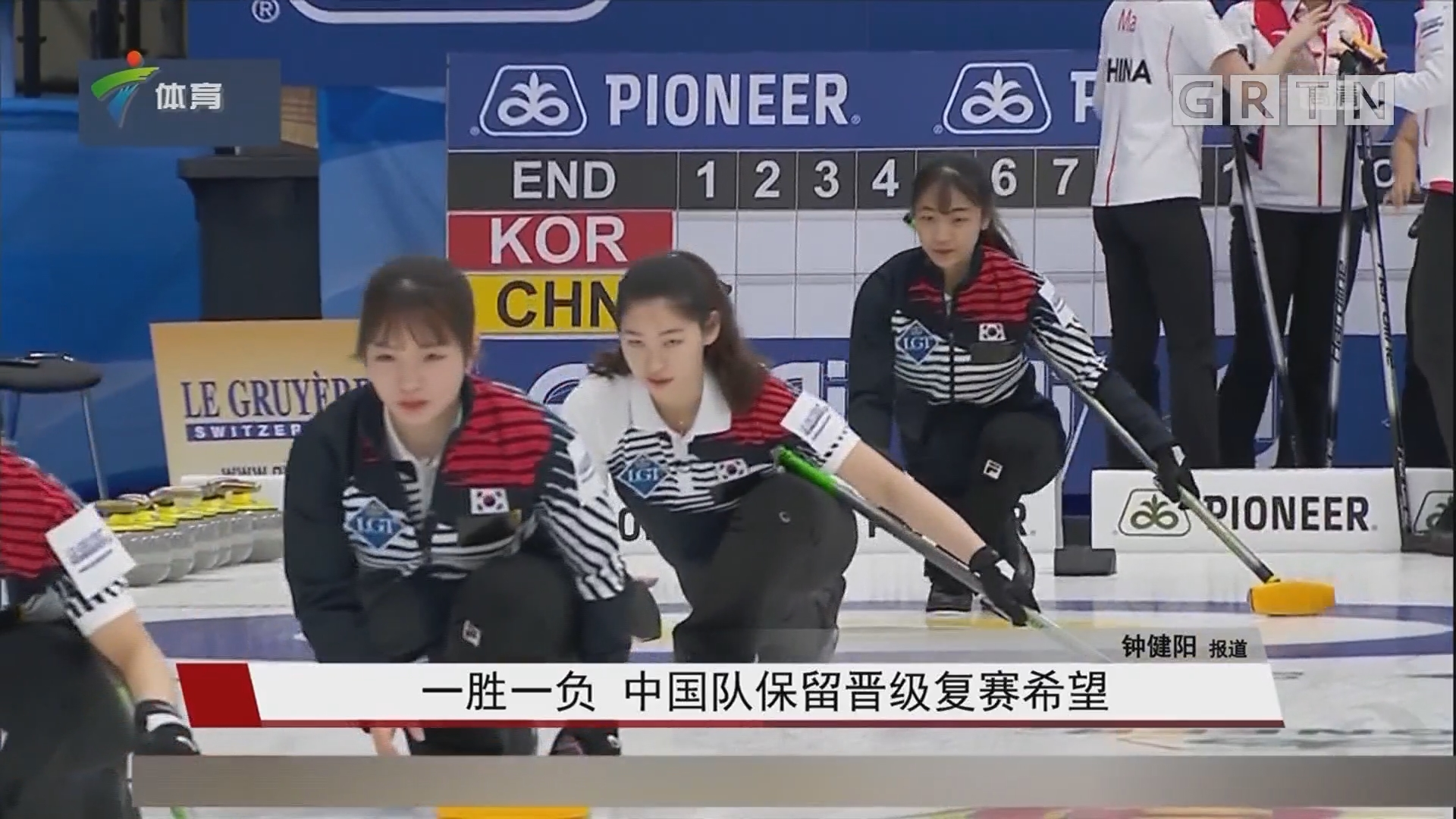 一胜一负 中国队保留晋级复赛希望