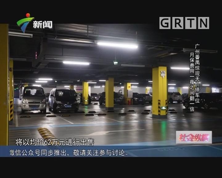 [2019-03-04]社会纵横:广州番禺惊现天价停车位 月保费用一夜之间翻一倍