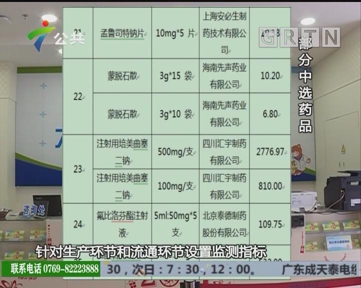 4月1日起 广州全市医院25种药品降价五成