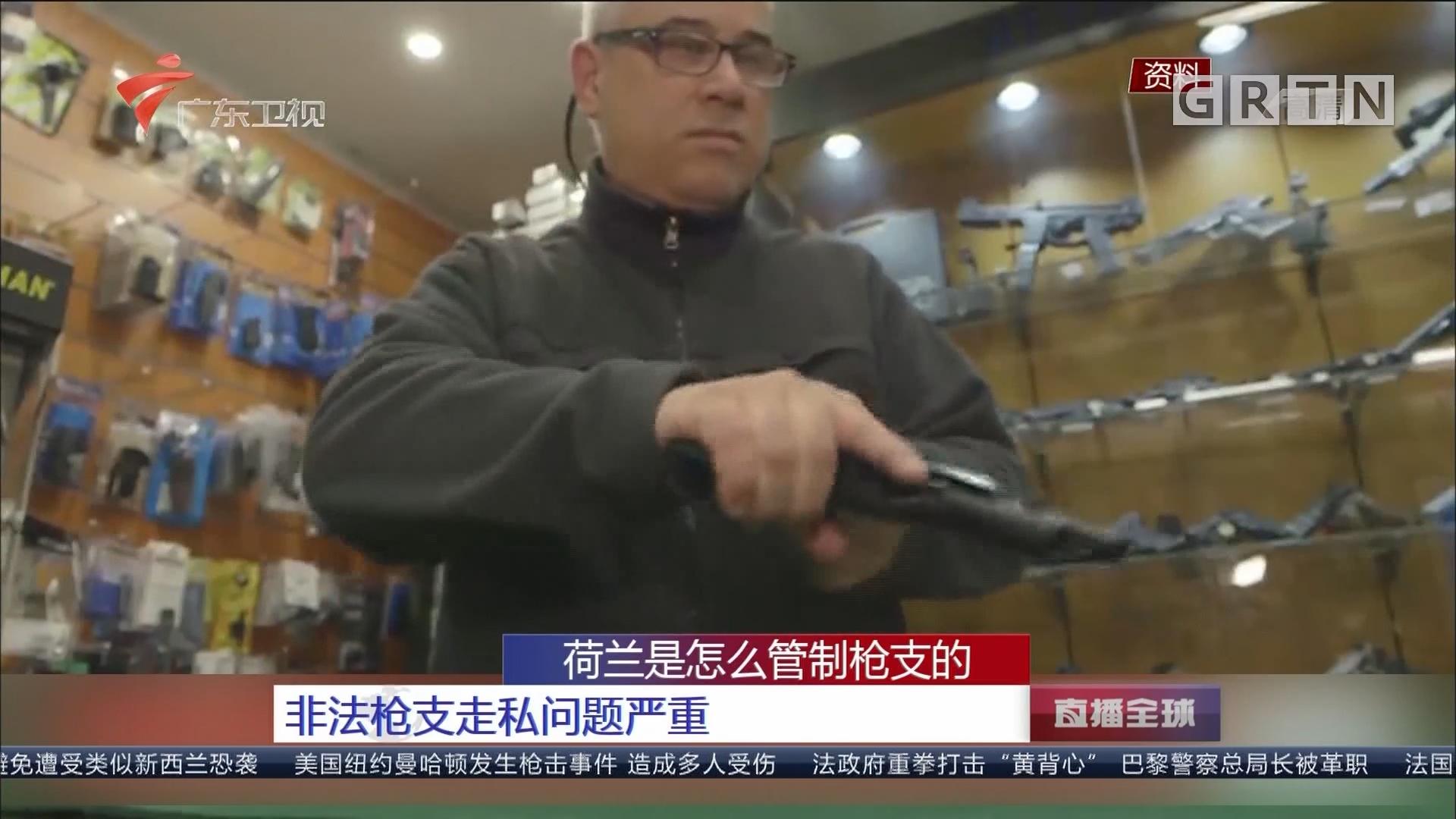 荷兰是怎么管制枪支的:枪支管理严格