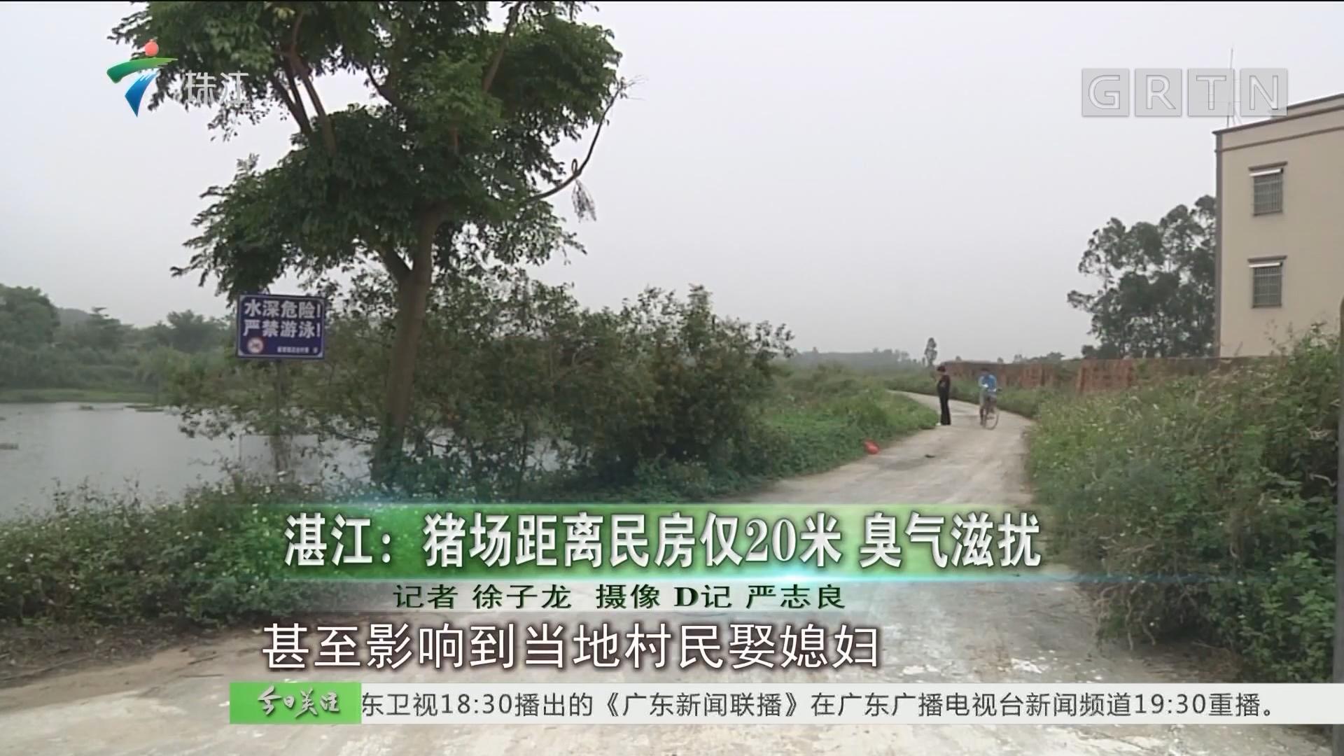 湛江:猪场距离民房仅20米 臭气滋扰