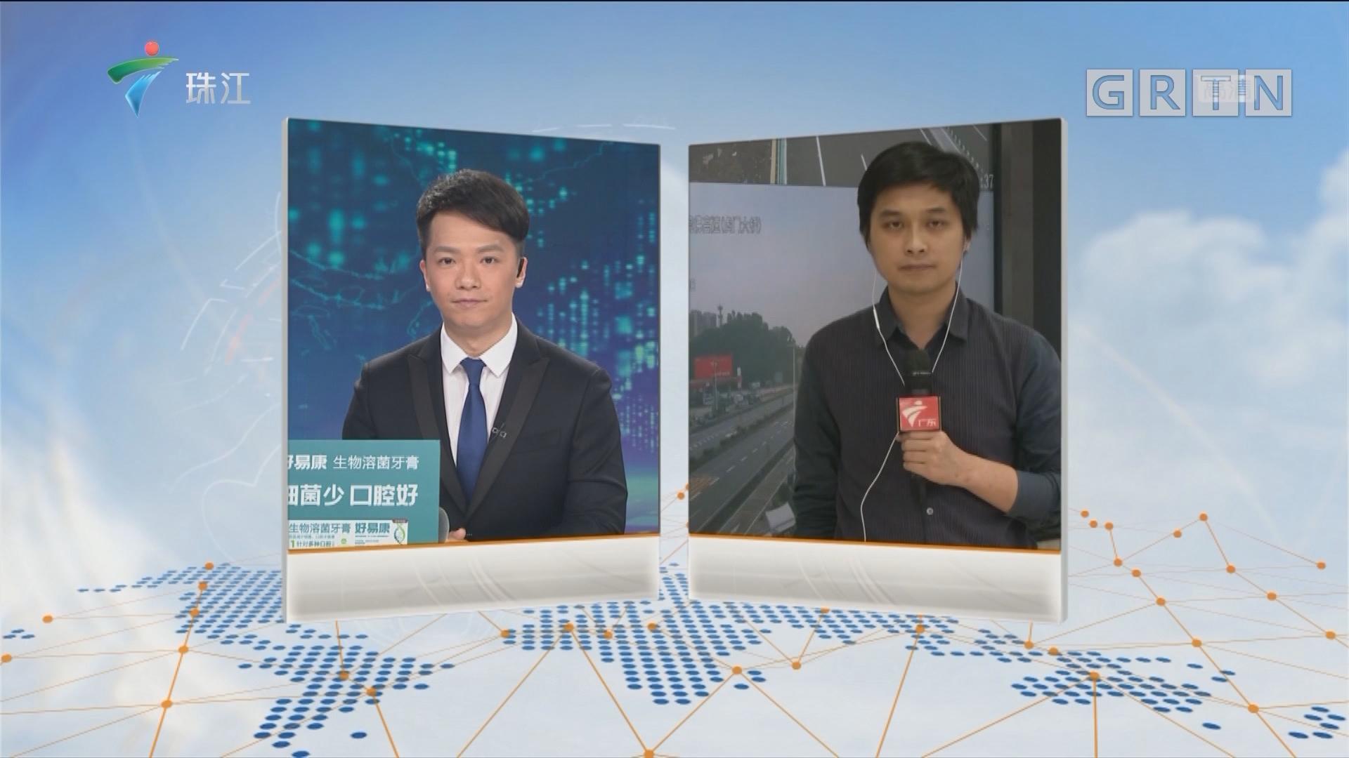 广东各大高速车流增多