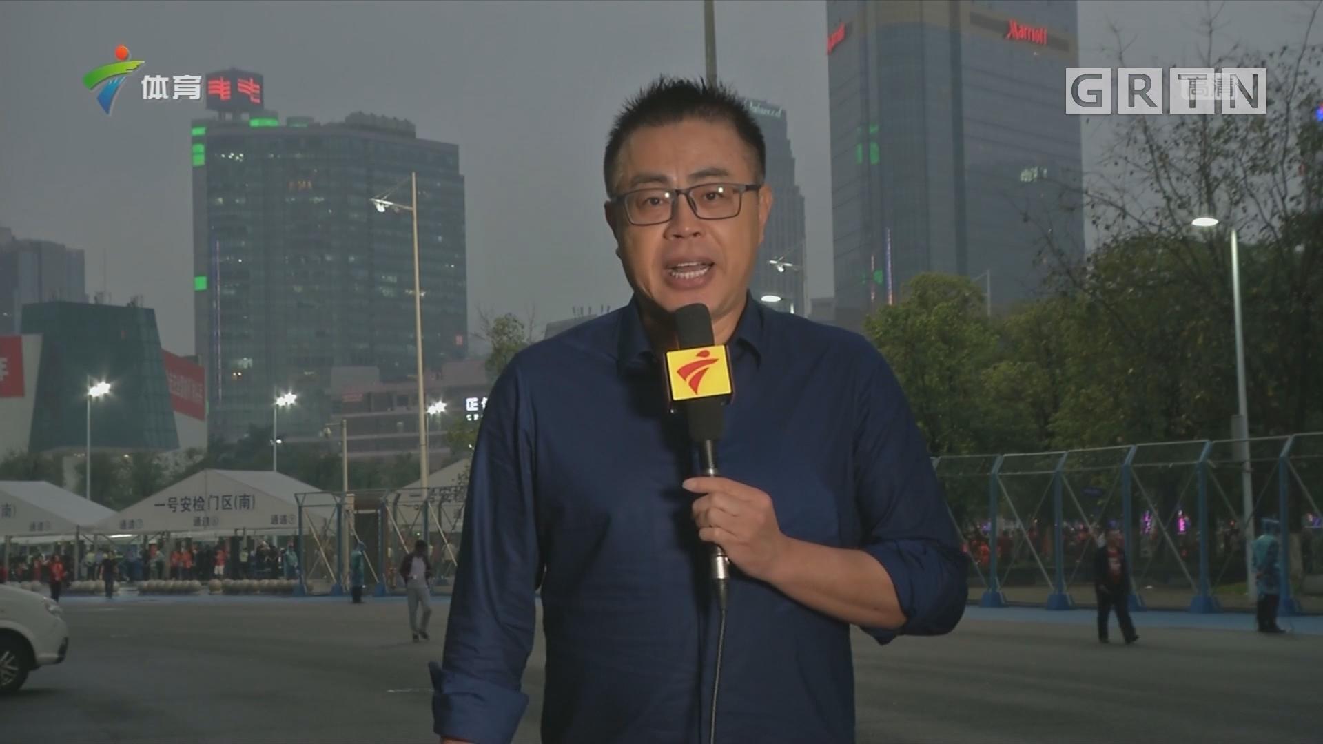 记者连线:广州恒大淘宝vs山东鲁能泰山