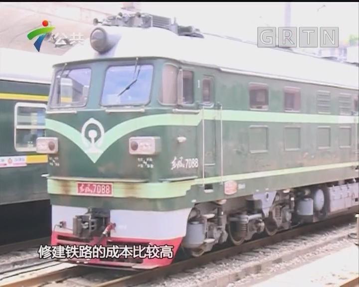 """全国首个""""无轨铁路货场港场网""""亮相佛山"""