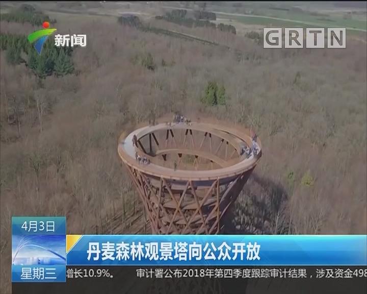 丹麦森林观景塔向公众开放