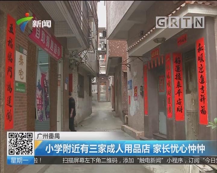 广州番禺:小学附近有三家成人用品店 家长忧心忡忡