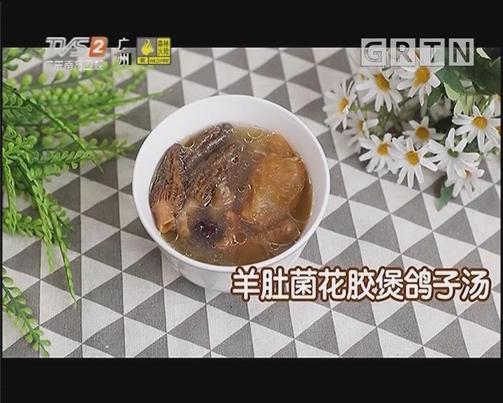 羊肚菌花胶煲鸽子汤