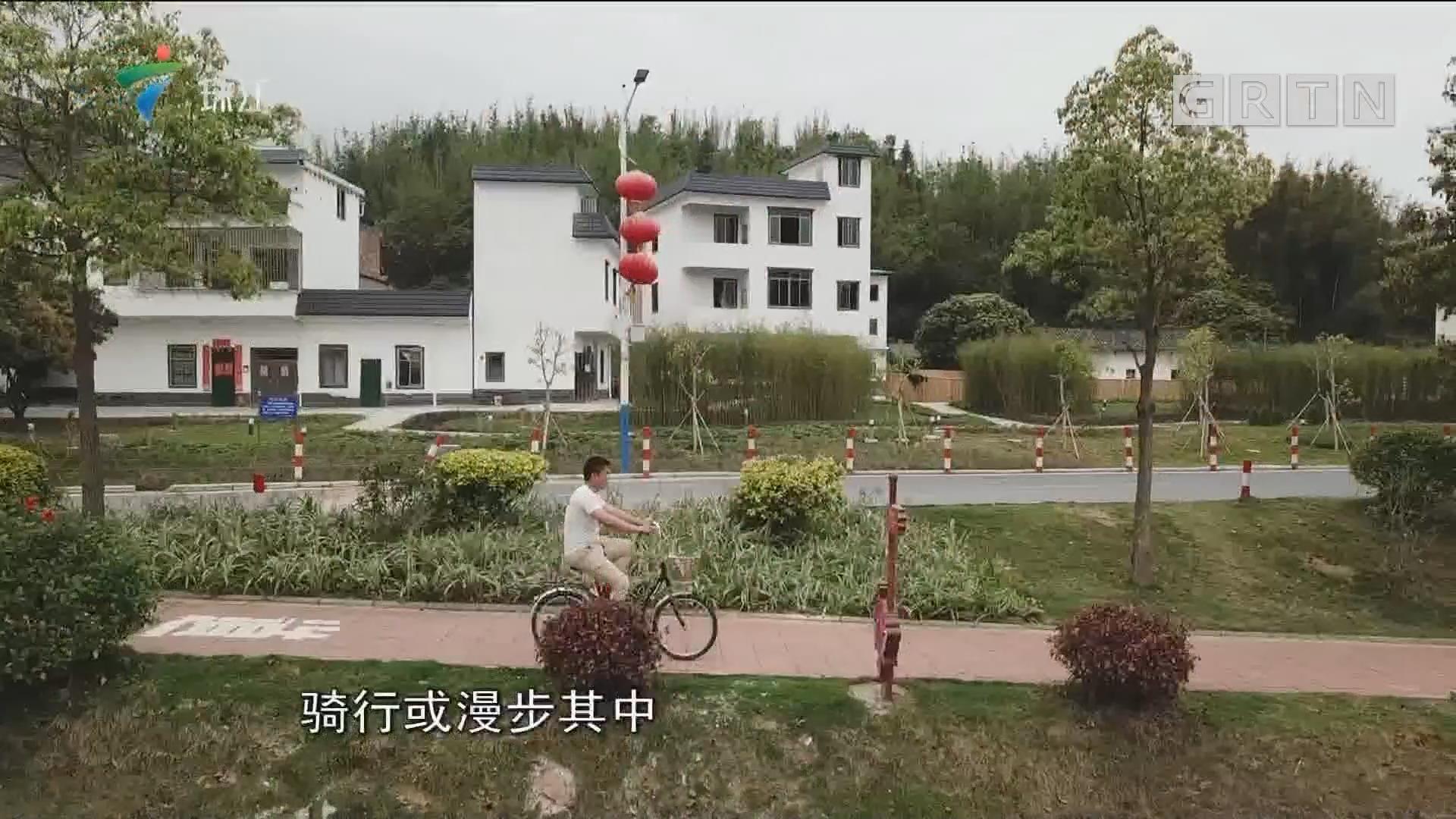 徜徉流溪绿道 助力乡村振兴